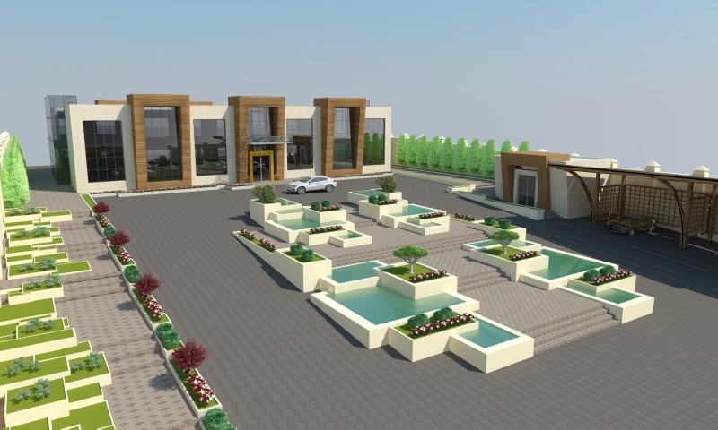 Badamdda Otel inşası